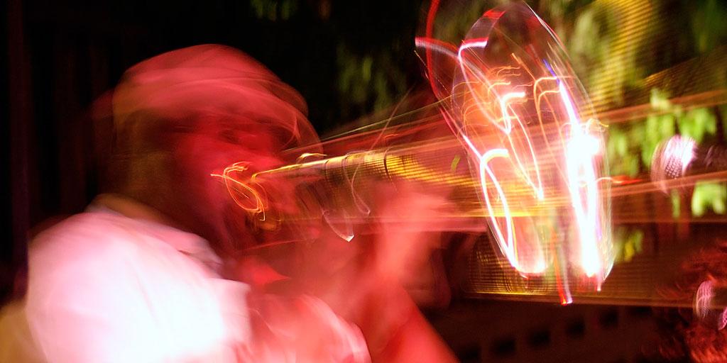 horn-player